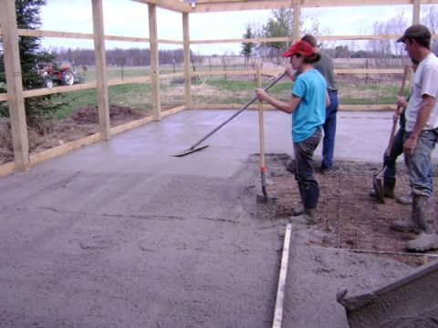 Laying the Cement